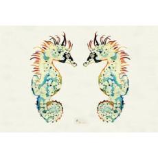 Seahorses Door Mat