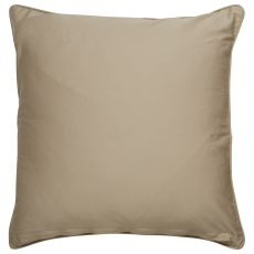 """Modern/Contemporary Pattern Taupe/Ivory Cotton And Polyester Down Fill Pillow ( 20""""X20"""")"""