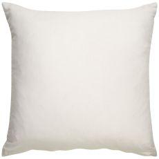 "Geometric Pattern Ivory/Black Cotton, Wool, Naylon & Polyester Down Fill Pillow ( 22""X22"")"
