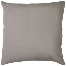 "Geometric Pattern Gray/Taupe Cotton, Wool, Naylon & Polyester Down Fill Pillow ( 22""X22"")"