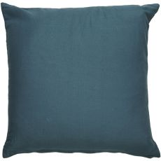"Geometric Pattern Blue/Taupe Cotton, Wool, Naylon & Polyester Down Fill Pillow ( 22""X22"")"