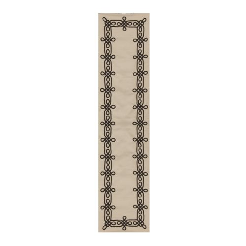Drawing Room 13X72 Table Runner, Cream