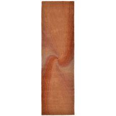 "Liora Manne Dunes Waves Indoor Rug - Rust, 27"" by 8'"