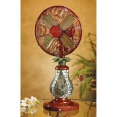 Mosaic Fern Table Fan