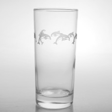 School of Dolphins Cooler Glasses (15oz)