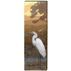 Egret Wood Art