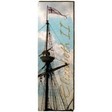 Elizabeth II Mast Wood Art