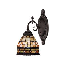 Mix-N-Match 1 Light Wall Sconce In Classic Bronze