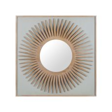 Manor Starburst Mirror, Artisan Dark Stain