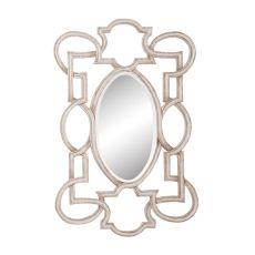 Somerset Mirror, Soft Gold, Manor White Wash