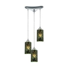 Illusions 3 Light Pendant In Polished Chrome