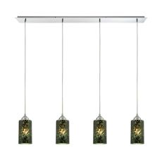 Illusions 4 Light Pendant In Polished Chrome