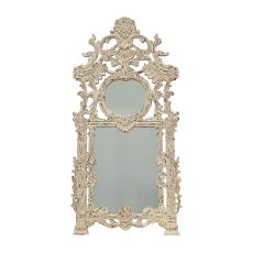 Two Connection Mirror, Signature Antique White