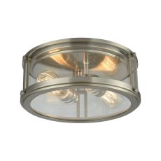 Coby 2 Light Flush In Brushed Nickel