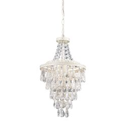 Clear Crystal Pendant Lamp
