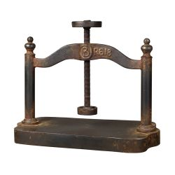 Cast Iron Book Press