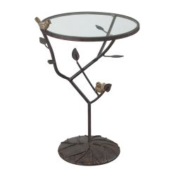 Kimberly-Birds On A Branch Accent Table