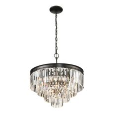 Palacial 5 Light Pendant In Oil Rubbed Bronze