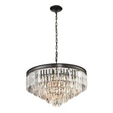 Palacial 6 Light Pendant In Oil Rubbed Bronze
