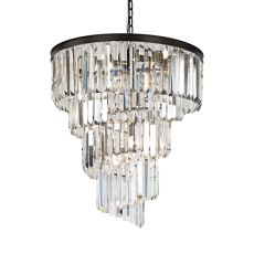 Palacial 9 Light Chandelier In Oil Rubbed Bronze