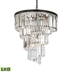 Palacial 9 Light Led Chandelier In Oil Rubbed Bronze
