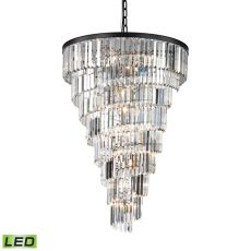 Palacial 15 Light Led Chandelier In Oil Rubbed Bronze