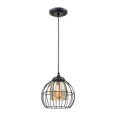 Yardley 1 Light Pendant In Oil Rubbed Bronze