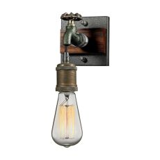 Jonas 1 Light Wall Sconce In Weathered Multitone