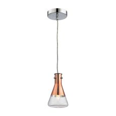 Olean 1 Light Pendant In Polished Chrome