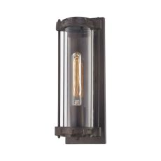 Chasebrook 1 Light Led Wall Sconce In Clay Iron