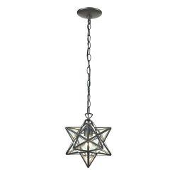 Star-1Light Glass Pendant Lamp