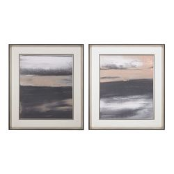 Glide I, II- Limited Edition Print On Fine Art Paper Under Glass