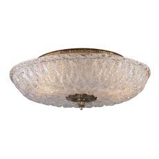 Providence 2 Light Flushmount In Antique Silver Leaf