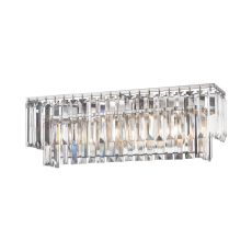 Palacial 3 Light Vanity In Polished Chrome