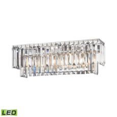 Palacial 3 Light Led Vanity In Polished Chrome