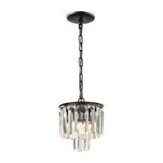 Palacial 1 Light Pendant In Oil Rubbed Bronze