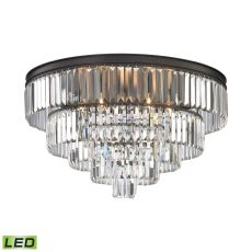 Palacial 6 Light Led Chandelier In Oil Rubbed Bronze