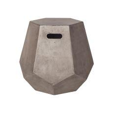 Delana Side Table, Waxed Concrete
