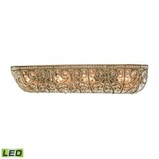 Elizabethan 4 Light Led Vanity In Dark Bronze