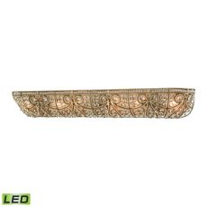 Elizabethan 6 Light Led Vanity In Dark Bronze