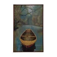 River Boat Wall Decor, Original Art