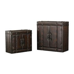 Set Of 2 Travelers Cabinets