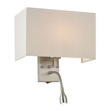 Sconces 2 Light Wall Sconce In Brushed Nickel