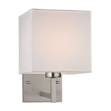 Sconces 1 Light Wall Sconce In Brushed Nickel