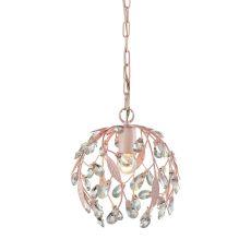 Circeo 1 Light Pendant In Light Pink