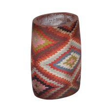 Terra Cotta Ellipse Vase, Original Art