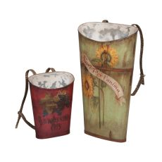Tin Wine Baskets, Original Art