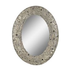 Stephane Mirror, Aged Silver