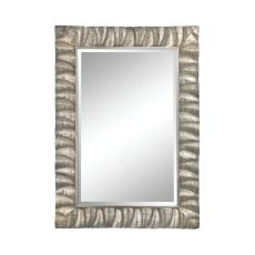 Canal Mirror, Aged Silver