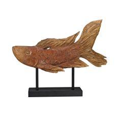 Ryukyu Fish Sculpture, Stain